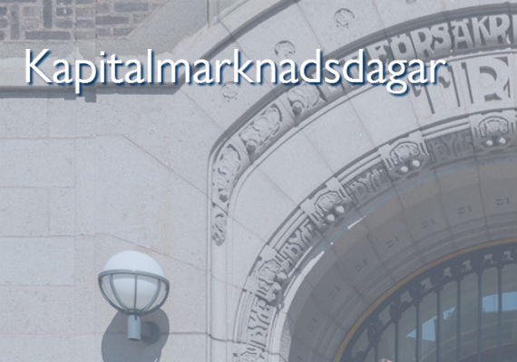 Stockholm Corporate Finance Life Science & Healthcare-seminarium
